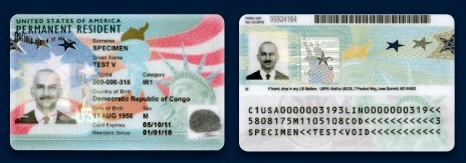 New Green Card. Nguồn: USCIS Will Issue Redesigned Green Cards