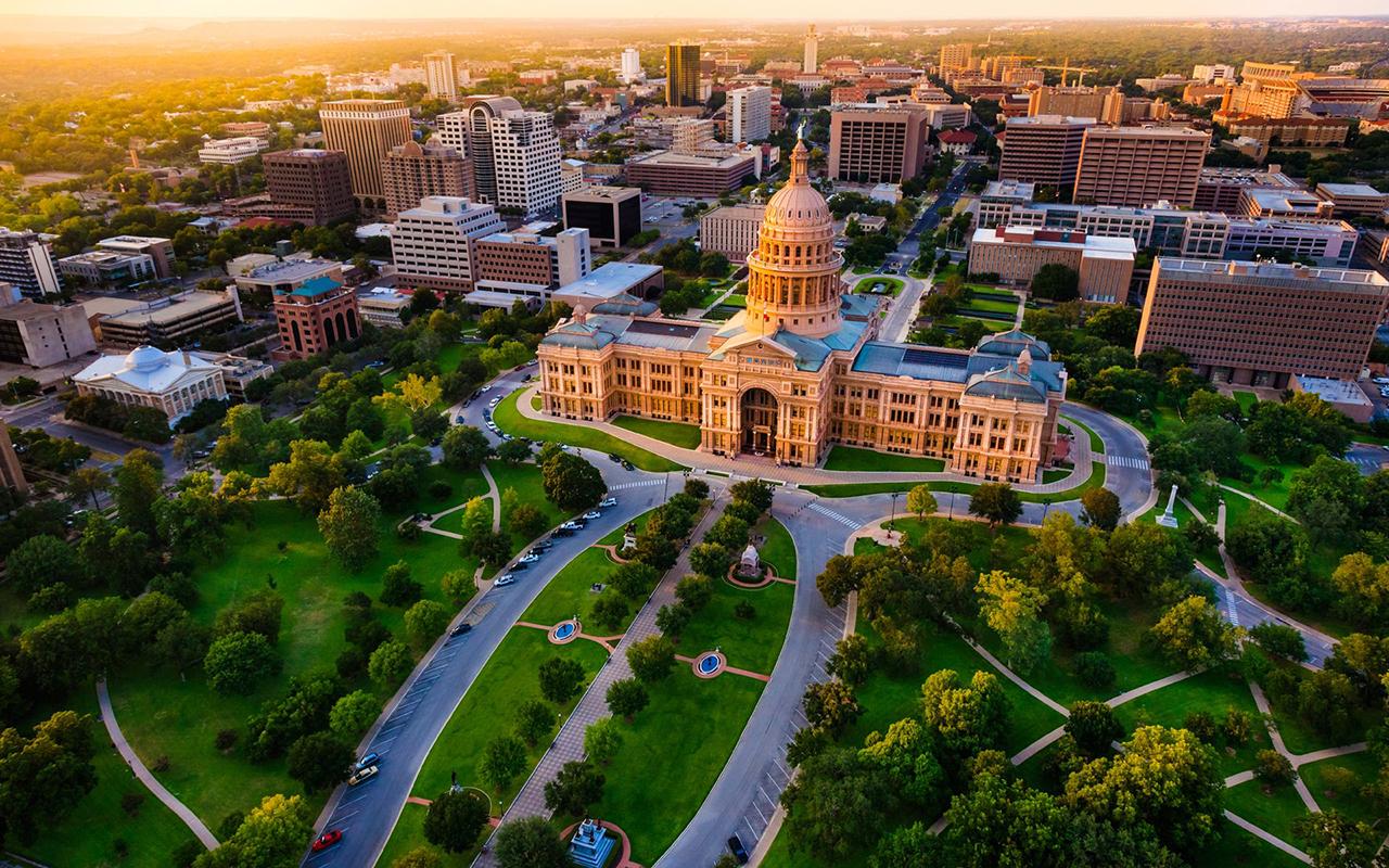 1.Austin, Texas